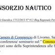 Il 12 novembre presso la Camera di Commercio di Livorno, Sala Capraia, dalle ore 17.30 alle 19.30, sarà tenuta una conferenza/ seminario sul: Conoscere la nostra città dal punto di vista strutturale. I relatori sono […]